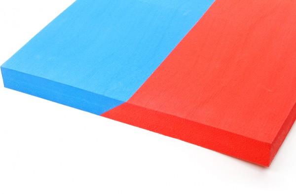 Combistreifen blau/rot 40/30Sh.