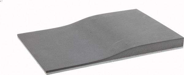 Fräskeil Standard 2-schichtig dunkelgrau/hellgrau 60/40 Shore