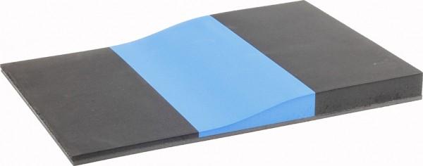 Fräskeil Control 3-schichtig schwarz/blau/schwarz 60/40/60 Shore