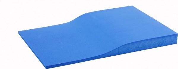 Fräskeil Economie 1-schichtig blau 45 Shore